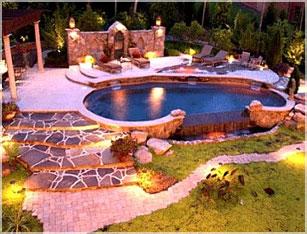 Landscape Lighting Design & INstallation Malden MA